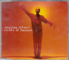 MAXI CD SINGLE 5T YOUSSOU N' DOUR CHIMES OF FREEDOM DE 1995