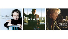 3 CLAY AIKEN CDs LOT ~ Measure of a Man,On My Way Here,A Thousand Different Ways