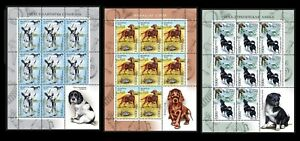 2010. Belarus. Dogs. Hounds. MNH. Sheets/Panes
