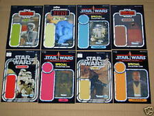 Vintage Star Wars 104 x LOT,SET,MINI BACKING CARDS,CARDBACKS,DISPLAY SIZE!!!(4)