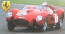 Ferrari 250 TR vs. Jaguar D Type Road Test Brochure