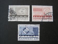 DANMARK DANIMARCA MiNr. 785-787 timbrato (V 711)