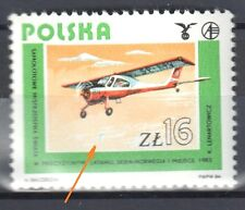 Poland 1984 - Polish Aviaton - error Mi. 2943  - MNH(**)