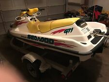 1996 Sea Doo GTI Jet Ski and Trailer