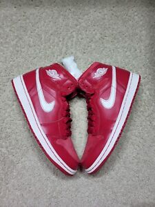 Nike Men's Air Jordan 1 Gym Red Red/White Sz 8.5 555088-601 Basketball Shoes