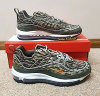 Nike Air Max 98 AOP Size 9.5 UK BNIB Genuine Authentic Mens Trainers 95 97 1