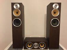 B&W Bowers and Wilkins CM7 Floorstanding speakers in Wenge