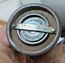 Antique Vintage Peter piper - Park Green and Co Ltd Pepper Mill / Grinder Wooden