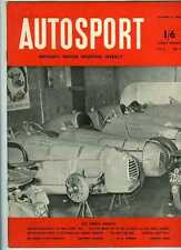 Autosport October 31st 1952 *Earls Court Motor Show & 2.3 Litre Gordini*