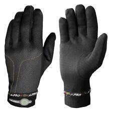 Winter Warm Unisex Motorcycle Motorbike Riding Thermo Gloves Underwear Black M