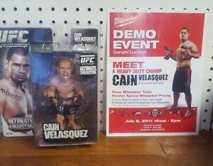 UFC Cain Velasquez Figure Round 5 Autographed