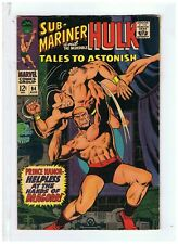 Marvel Comics Sub Mariner & The Incredible Hulk Tales To Astonish #94 Fine 1967
