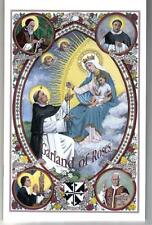 Garland of Roses 15 Decade Rosary Meditations Color Booklet Traditional Catholic