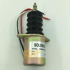 Fuel stop solenoid  AM124379 for John Deere 415 455 F915 F925 F935 Front Mower