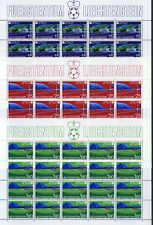 Liechtenstein Kleinbögen MiNr. 799-801 postfrisch/ MNH Fußball WM 1982 (799