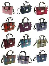 Authentic Harris Tweed Ladies Small Tote Bag With Shoulder Strap LB1228