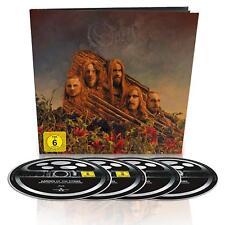 OPETH - GARDEN OF THE TITANS (LTD.EDT.) BD+DVD+2CD EARBOOK 3 BLU-RAY+DVD NEU