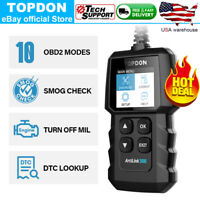 TOPDON AL300 Car Universal OBD2 Code Reader Scanner CAN BUS Scan Tool Live Data