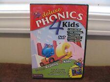 "Deluxe Phonics 4 Kids - Bonus: Reading 4 Kids for PC. (Ages 4 & Up) ""Brand New"""