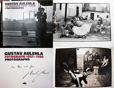 GUSTAV AULEHLA CZECH GENRE PHOTOGRAPHY AUTHOR SIGNED 1957 - 1990