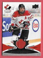 2016-17 Meaghan Mikkelson Upper Deck Team Canada Juniors Jersey #143