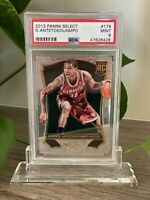 2013 PANINI SELECT GIANNIS ANTETOKOUNMPO #178 ROOKIE MVP DPOY PSA 9 MINT HOT