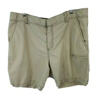 Horny Toad Cargo Shorts Mens Size 36 Khaki Hiking Outdoor Tan Large Brown