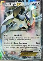 ULTRA RARE Lugia EX 68/98 Pokemon XY Ancient Origins HOLO FOIL Holographic - LP
