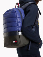 Tommy Hilfiger 2019 City Trek Padded Backpack LAPTOP Office Travel Gym  Rucksack b590075062db4