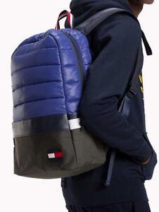 Tommy Hilfiger 2021 City Trek Padded Backpack LAPTOP Office Travel Gym Rucksack