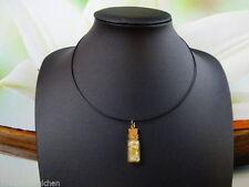 Handgefertigte Modeschmuck-Halsketten & -Anhänger aus Glas und Edelstahl
