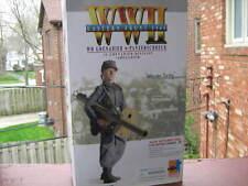 """DML 1/6 WW 2 GERMAN HEER GRENADIER/PANZERSCHRECK, """"WERNER"""""""