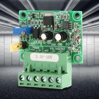 3.3V PWM 100HZ-3KHZ Signal to 0V-10V Voltage Converter D/A Digital-Analog Module