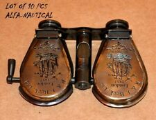 Lot Of 10 Pieces  Antique Maritime Brass Monocular Nautical Binocular Spyglass