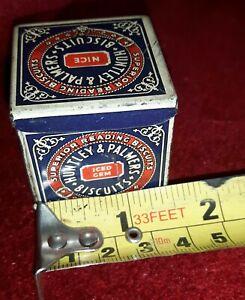 Sample biscuit tin vintage probably 1950s