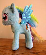 "TY Sparkle Rainbow Dash 11"" Official Plush My Little Pony"