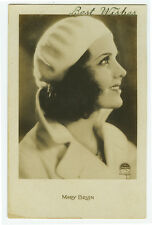 c 1930 Vintage Movie Star MARY BRIAN antique French photo postcard