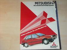 44264) Mitsubishi Colt + Galant + Pajero Prospekt 02/1984