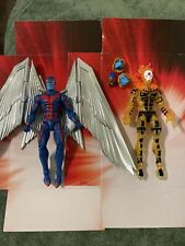 """Marvel Legends 6"""" Inch Apocalypse BAF Wave X-Men Archangel & Sunfire LOT"""