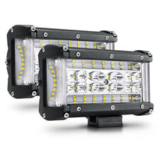 "2PCS 5"" Led Work Light Pods Spot Flood Combo for Truck SUV UTV ATV OffRoad Jeep"