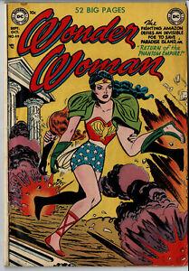Wonder Woman # 49 (VG, 1951, Golden Age, Comic)