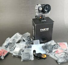 ThiEYE T5 Pro 4K 60fps WiFi Action Camera * Touchscreen Remote Control NEW READ