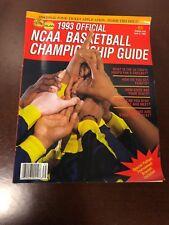 1993 NCAA Basketball Championship Guide