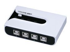 USB 2.0 Sharing Switch 4 to 1 with (2) A to B cable   2996