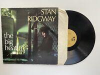 Stan Ridgway The Big Heat Vinyl Album Record LPVG