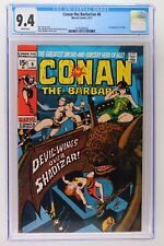 Conan the Barbarian #6 - Marvel 1971 CGC 9.4 1st Appearance of Fafnir.