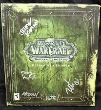 WORLD OF WARCRAFT: THE BURNING CRUSADE-- SIGNED COLLECTOR'S EDITION