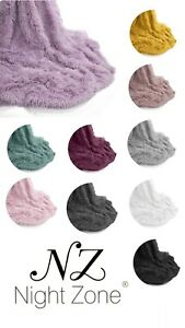 Teddy Throw Soft & Snug Warm Cosy Blanket With Reversible Teddy Sherpa Fleece