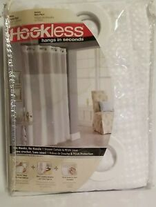 Hookless Hanging Shower Curtain