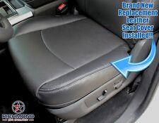 2009 2010 Dodge Ram 1500 Laramie - Driver Side Bottom Leather Seat Cover Dk Gray